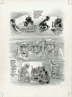 Will Eisner Original Art: Page 11 from Last Day in Vietnam (2000)