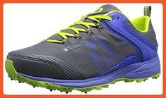 Icebug Women's Aurora Bugrip Studded Traction Running Shoe, Grey/Amethyst, 9.5 M US - Athletic shoes for women (*Amazon Partner-Link)