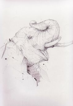 Ways of Drawing by Paul Wischnewski, via Behance