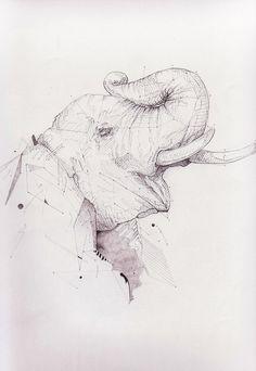 Ways of Drawing by Paul Wischnewski, via Behance