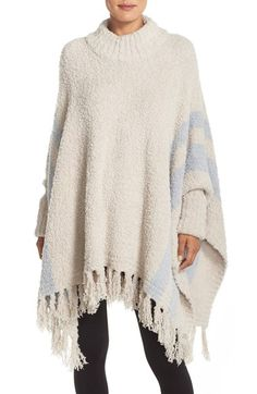 Barefoot Dreams 'Cozy Chic Beach' Fringe Lounge Poncho