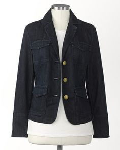 Denim blazer redux | Coldwater Creek