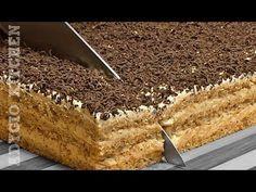 Reteta - Cheesecake cu ciocolata si visine (fara coacere) | Bucataras TV - YouTube