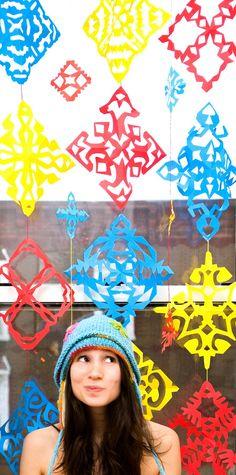 Adorable snowflakes!