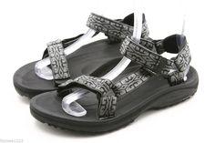 ec8c16b8b TEVA mens sandals Size 8 GRAY HURRICANE waterproof river water sport shoes  EU 7