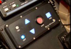 Le panneau de contrôle et de mise à feu du canon StarChase n'a rien à envier aux gadgets que l'on peut apercevoir dans les voitures conduite...