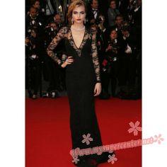 Cara Delevingne lace black dress Cannes  $149 .99 each at Mysupercenter.net