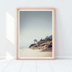 Deer Wall Art, Contemporary Art Prints, Sea Photography, Landscape Walls, Beach Print, Wall Art Designs, Printable Wall Art, Seaside, Printing Services