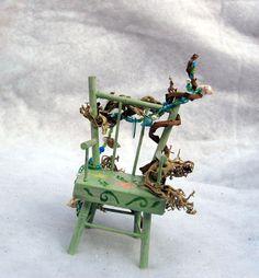 Sea Fairy Chair by FaeLolita on Etsy,