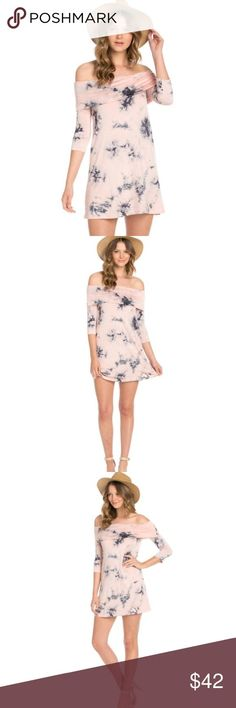 Awesome Womens Dress Tie Dye Mini Dress Tie dye pink and blue mini dress with off shoulder detail. he... Check more at http://24shopme.ml/fashion/womens-dress-tie-dye-mini-dress-tie-dye-pink-and-blue-mini-dress-with-off-shoulder-detail-he/