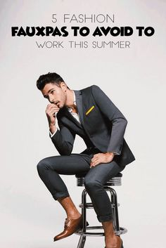 5 Fashion Faux Pas To Avoid To Work This Summer @theunstitchd