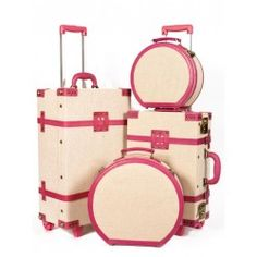Love these! SteamLine Luggage