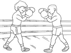 Combat sports coloring pages printable games Super Coloring Pages, Sports Coloring Pages, Coloring Pages For Kids, Coloring Sheets, Combat Sport, Color Box, Boxing Gloves, Sunday School, Martial Arts