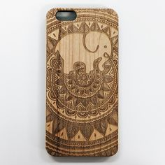Engraved Bamboo Ella Phone Case ($25) ❤ liked on Polyvore