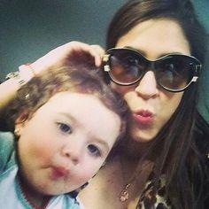Salome y Daniela Rodriguez. Besos para #10!! HALA MADRID! Hala Papi!