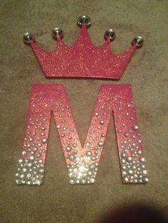 Embellished initials