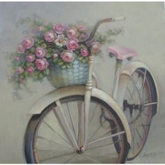 Christie Repasy Romantic Dreams Canvas Giclee $65.00 #thebellacottage #shabbychic #painting