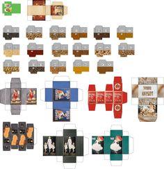Bedruckbar - Puppenhaus - präsentiert Miniatur