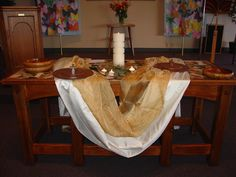 New communion table | Flickr - Photo Sharing!
