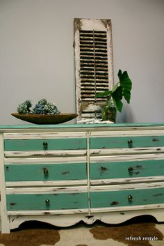 Dresser in Duck Egg