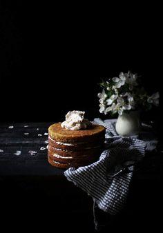 Carrot Cake with Maple Cream Cheese Swiss Meringue Buttercream