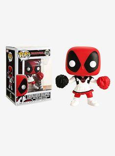 Funko Pop! Marvel Deadpool Cheerleader Deadpool Vinyl Figure - BoxLunch Exclusive, , hi-res