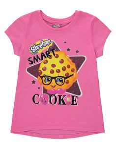 Shopkins T-shirt, read reviews and buy online at George. Shop from our latest range in Kids. Update their mini weekend wardrobe with this bright and fun Shop...