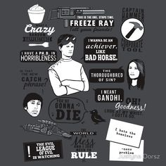 Horrible Quotes by Justyna Dorsz #geek #whedon #drhorrible