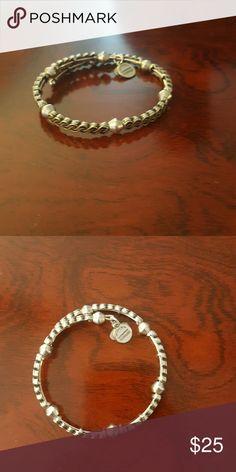 Alex and ani braided twist vintage 66 Braided twist bracelet with spacer beads beautiful w collection Alex & Ani Jewelry Bracelets