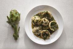 Αγκινάρες φρικασέ   tovima.gr Greek Recipes, Sprouts, Vegetables, Ethnic Recipes, Food, Essen, Greek Food Recipes, Vegetable Recipes, Meals