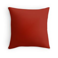 'Cayman Coral Peach Melon Pink Solid Color' Throw Pillow by podartist Cheap Throw Pillows, Decorative Throw Pillows, Red Pillows, Floor Pillows, Color Of The Day, Candy Apple Red, Colorful Party, Bed Throws, Milk Paint