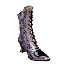 MRD_RT_purple boot.png ❤ liked on Polyvore