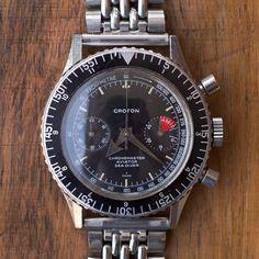 FS: Super cool Croton aviator seadiver chrono