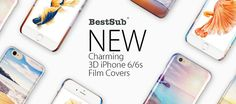 Charming 3D iPhone 6/6s Film Covers from BestSub | New Products | What's New?