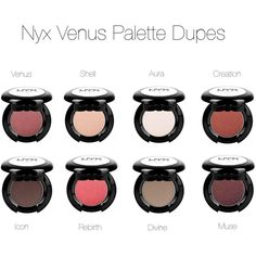 Nyx Dupes For Lime Crime Venus by voodoo-dolly on Polyvore featuring beauty