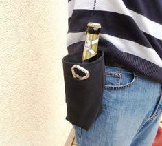 _Jetzt in Jeansblau oder Schwarz!!!!_ Hier ist die Lösung eines der größten Probleme des Mannes: Wohin mit der Flasche oder dem Glas, wenn ...