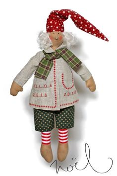 Купить Тильда гном - интерьерная кукла ручной работы - разноцветный, кукла, тильда, тильды, гном
