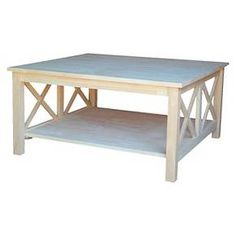 $200-- target--- Hampton Square Coffee Table - International Concepts : Target