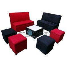 Sala Lounge 7 Suede - Casa Mariana Dos22