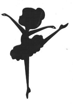 Discover recipes, home ideas, style inspiration and other ideas to try. Ballerina Sketch, Ballerina Art, Ballerina Silhouette, Silhouette Art, Fashion Silhouette, Fall Crafts, Diy And Crafts, Crafts For Kids, Ballerina Birthday Parties
