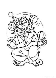 Fastnach Malvorlage Clown Murderthestout