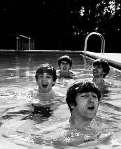this has got to be one of my favorite pictures of the beatles