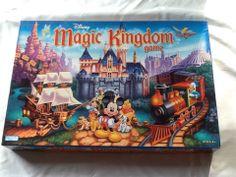 Disney Magic Kingdom Board Game Parker Brothers