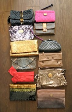 Don't forget your Clutch! Prada Clutch, Forget You, Suitcase, Suitcases, Briefcase
