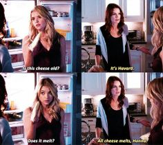 Hanna Marin, asking the important questions... LOL.