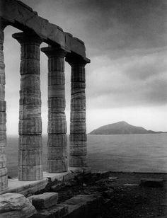 Temple of Poseidon, Cape Sounion, Greece, 1962 by Edwin Smith