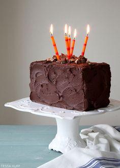 Ultimate Candy Bar Cake Recipe | by Tessa Huff | TheCakeBlog.com