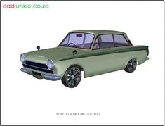 3D Vehicle: Ford Lotus Cortina MK I CAD Format: AutoCAD 2013 Block Type: 3D Mesh Units: mm Autocad, 3d Mesh, 3d Cad Models, Cad Blocks, Muscle Cars, Lotus, 3 D, Transportation, Vehicle