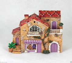 NIB J CARLTON BY GAULT HANDPAINTED FRENCH PROVENCE SAVONS DE PROVENCE BUILDING  EBAY.COM