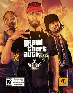 Grand Theft Auto V artwork by Street Hustle.